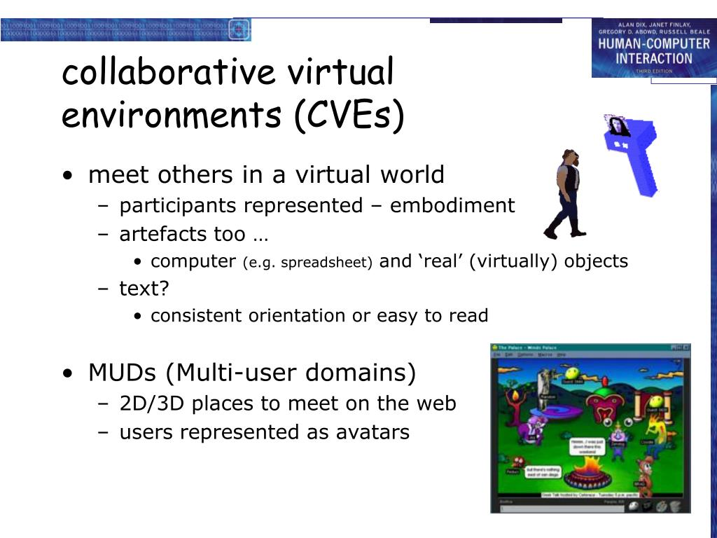 collaborative virtual environments (CVEs)