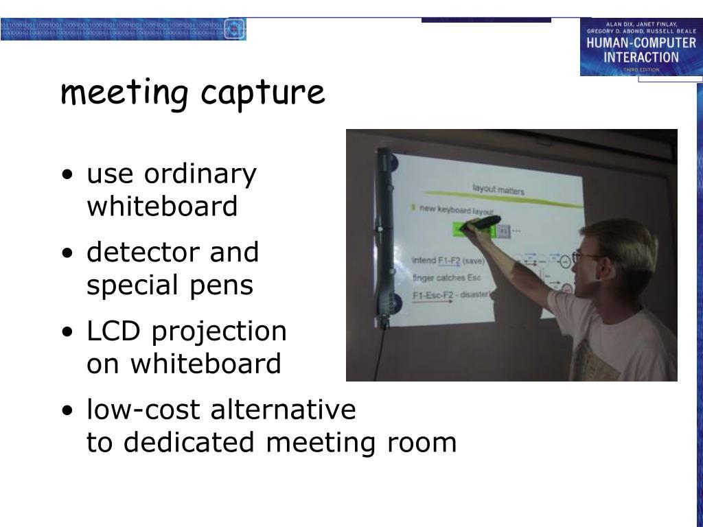 meeting capture