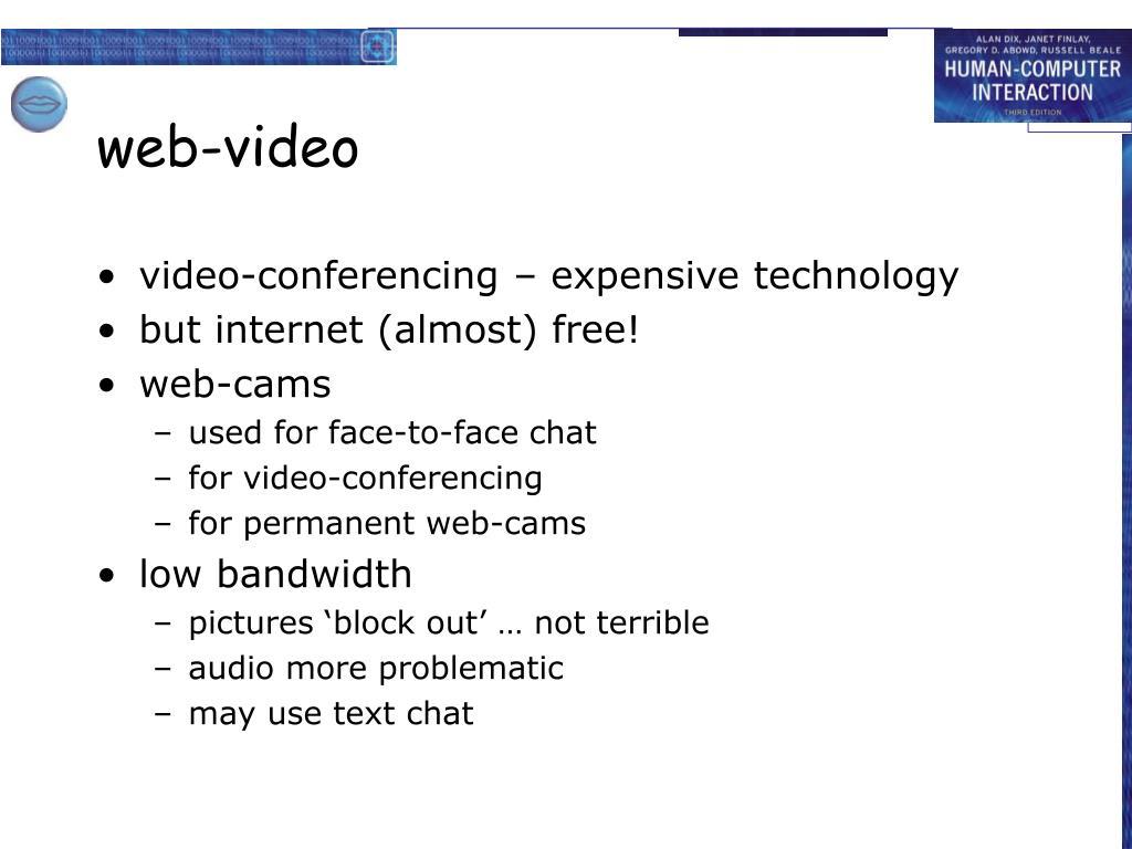 web-video