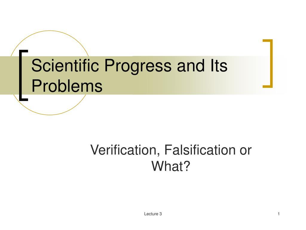 scientific progress and its problems l.