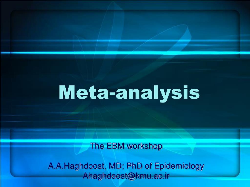 meta analysis l.