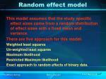 random effect model24