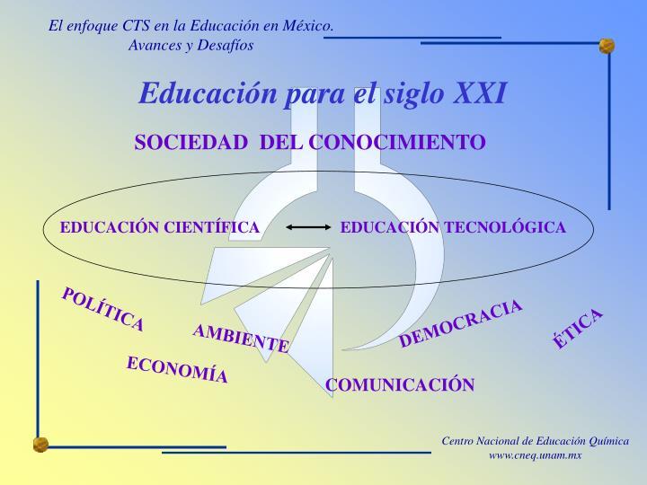 Educaci n para el siglo xxi