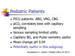 pediatric patients19