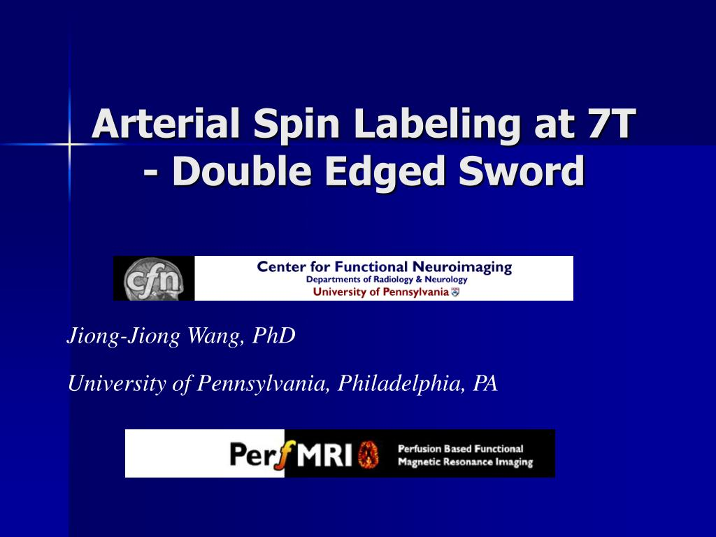 arterial spin labeling at 7t double edged sword l.