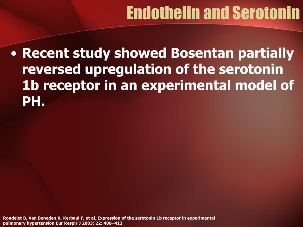 Endothelin and Serotonin