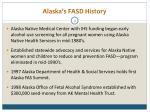 alaska s fasd history