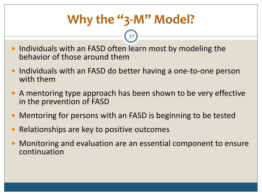 "Why the ""3-M"" Model?"