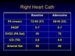right heart cath