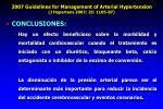 2007 guidelines for management of arterial hypertension j hypertens 2007 25 1105 87