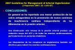 2007 guidelines for management of arterial hypertension j hypertens 2007 25 1105 8728