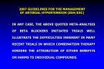 2007 guidelines for the management of arterial hypertension esh esc
