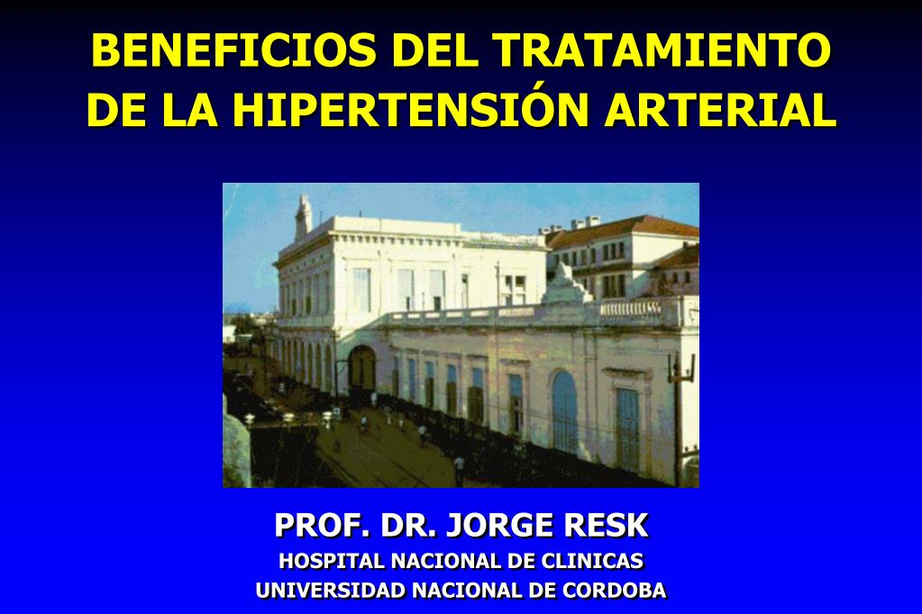 beneficios del tratamiento de la hipertensi n arterial l.