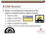 rams benefits