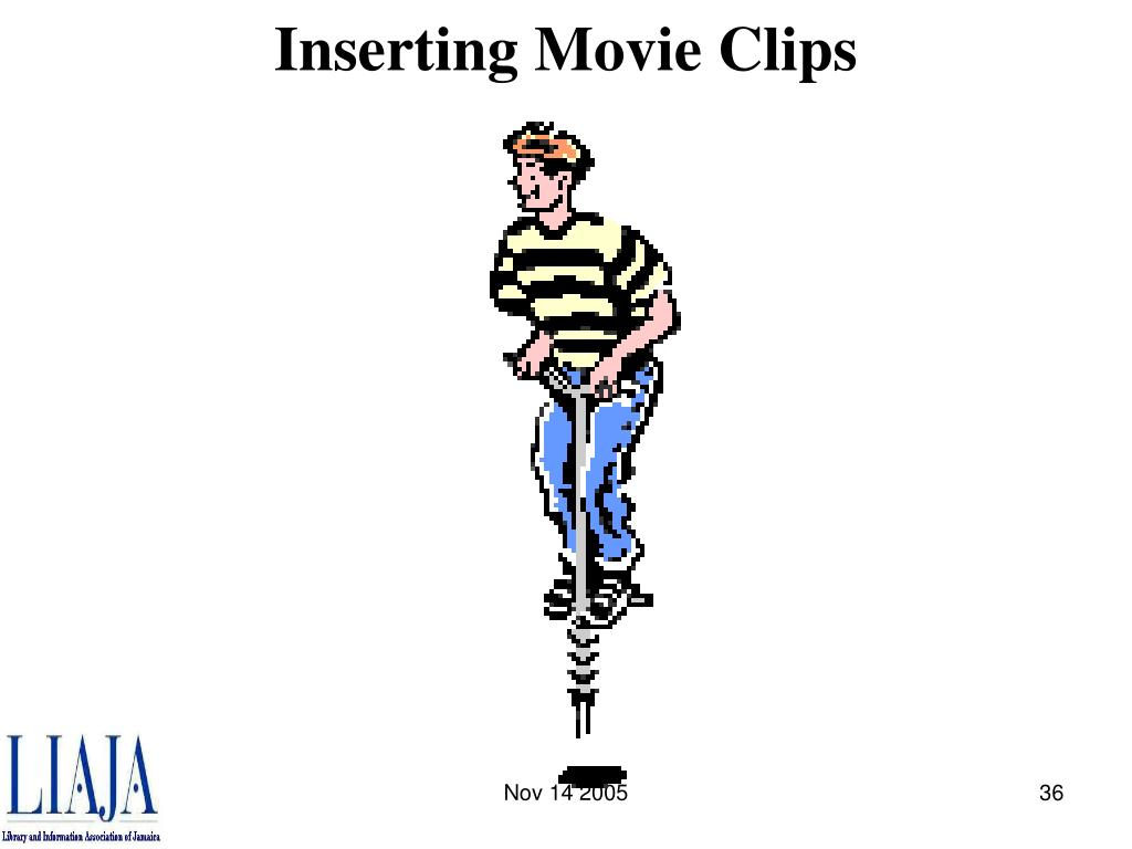 Inserting Movie Clips