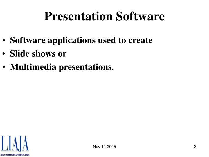 Presentation software3