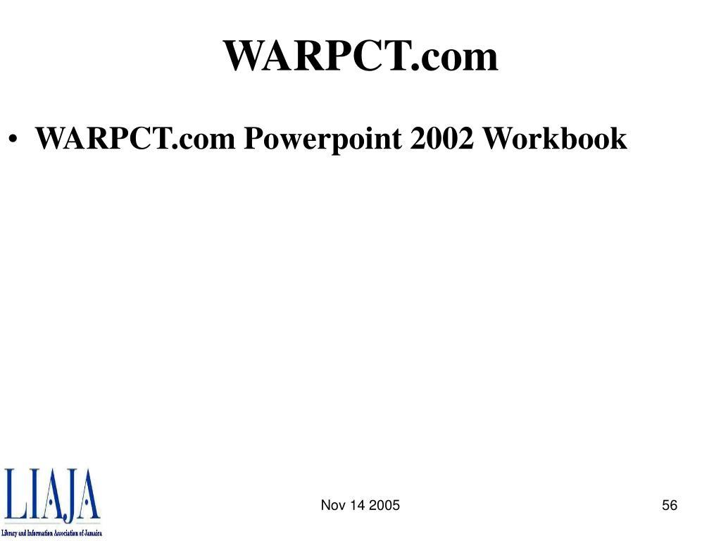 WARPCT.com