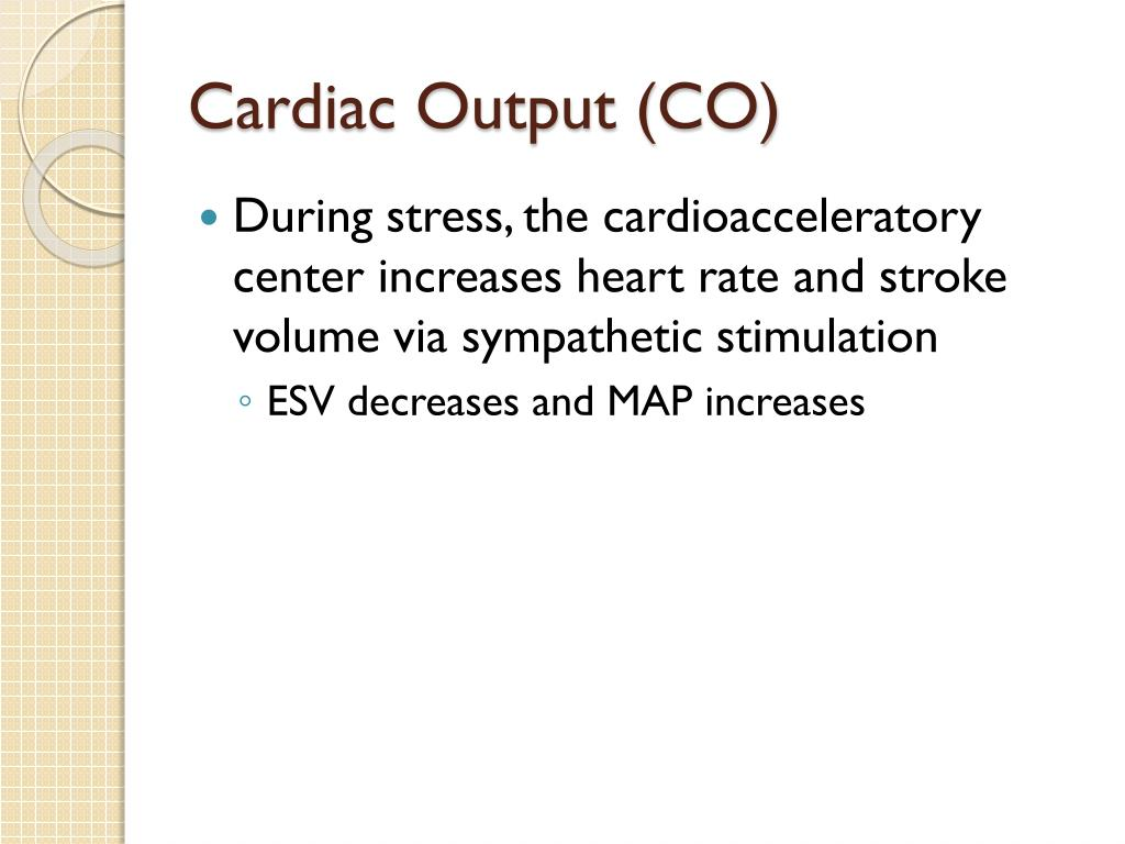 Cardiac Output (CO)