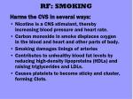 rf smoking