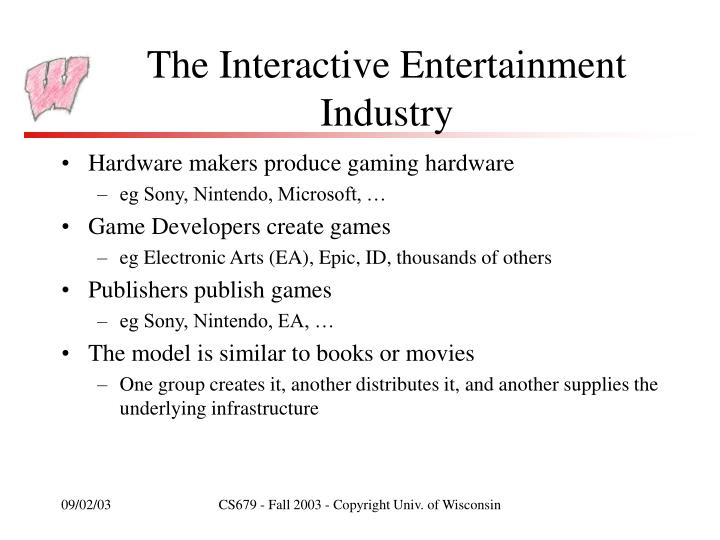 The Interactive Entertainment Industry