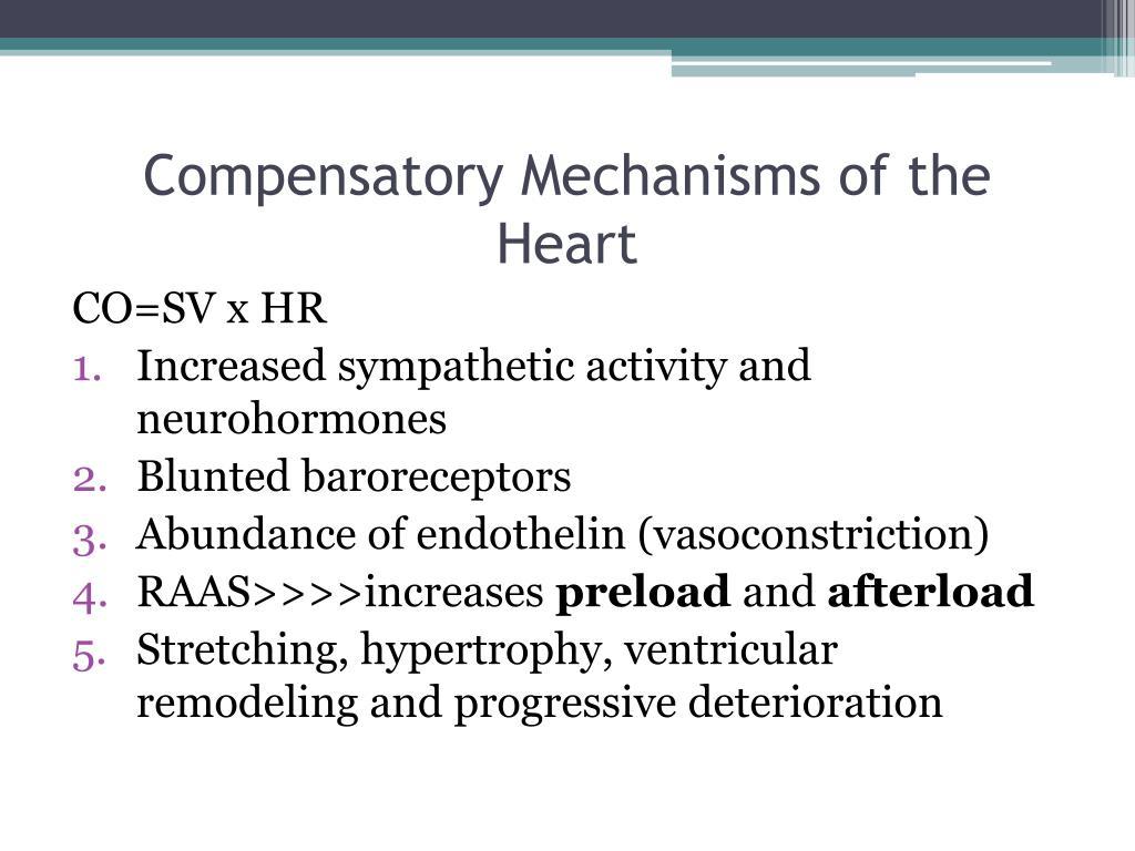 Compensatory Mechanisms of the Heart