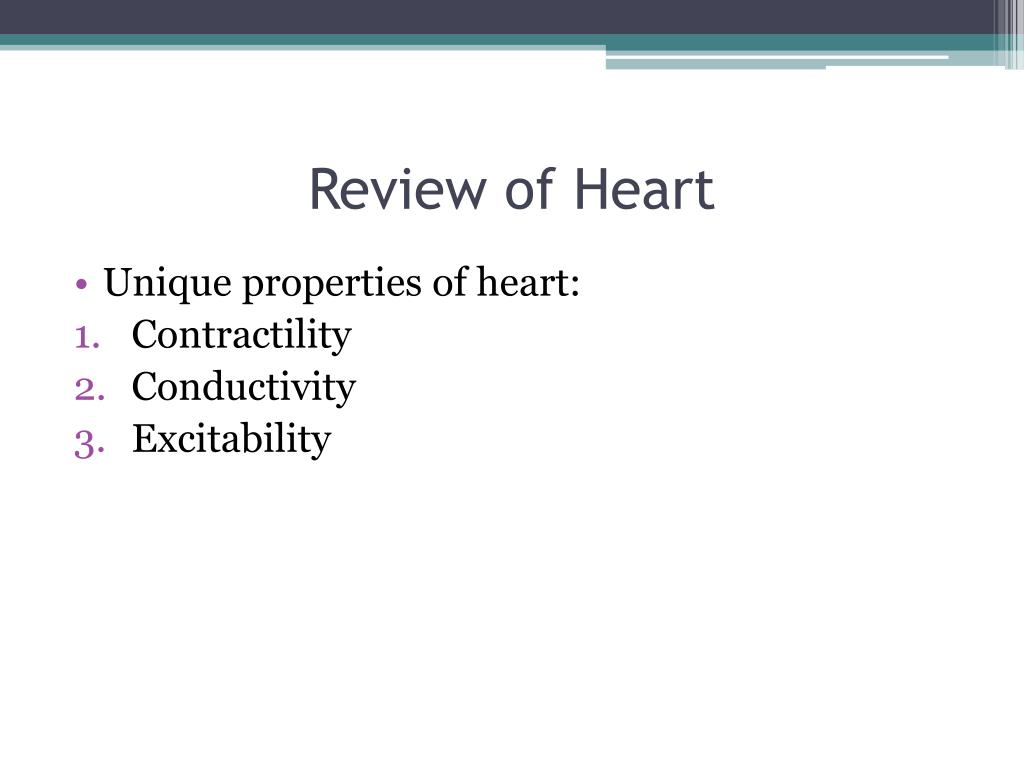 Review of Heart