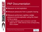 pap documentation