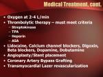 medical treatment cont