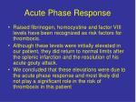 acute phase response