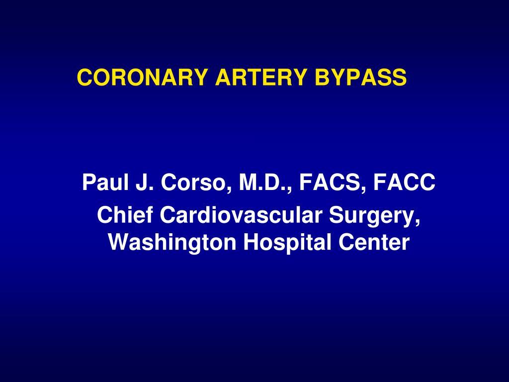 coronary artery bypass l.