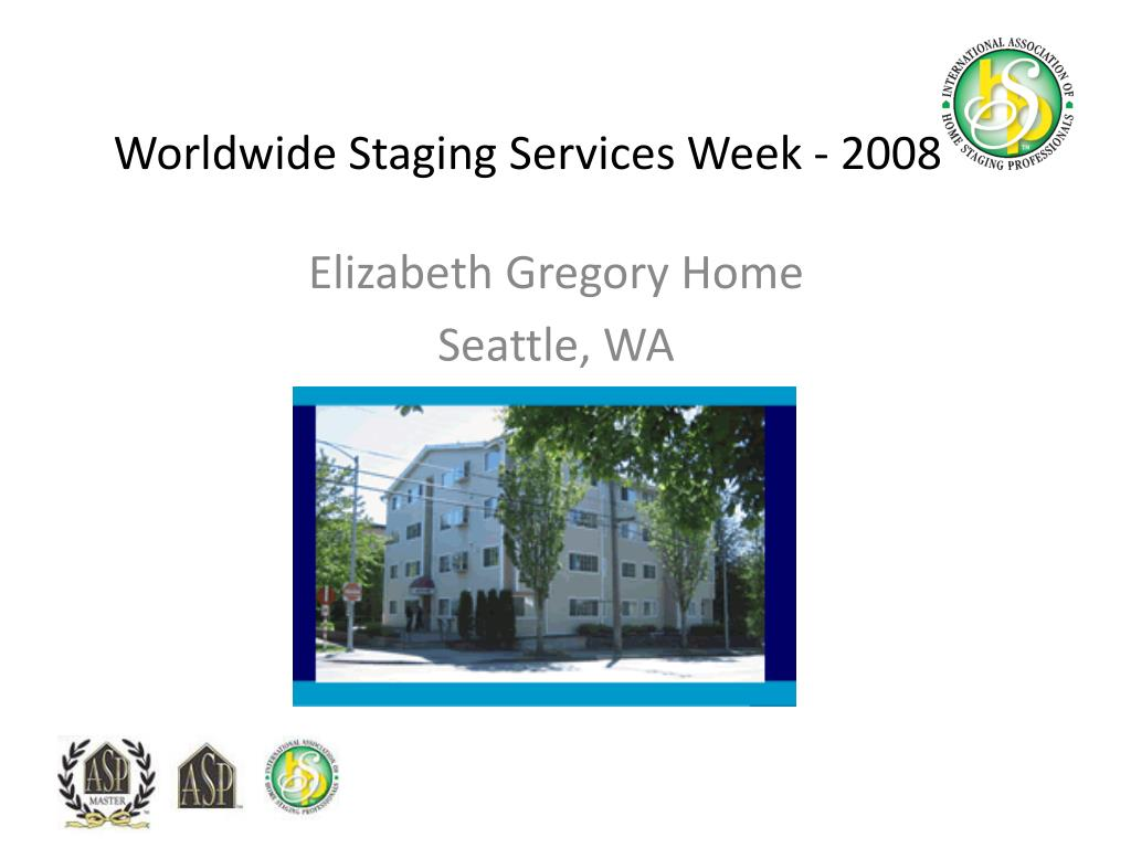 worldwide staging services week 2008 l.