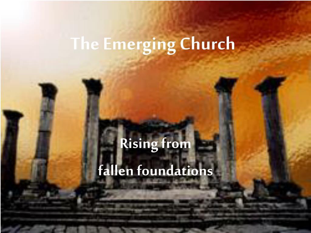 the emerging church l.