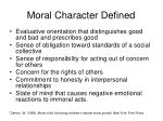 moral character defined