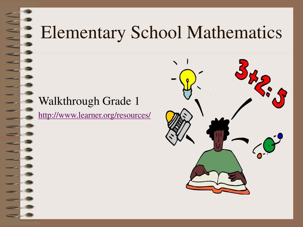 Elementary School Mathematics