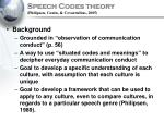 speech codes theory philipsen coutu covarrubias 2005