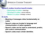 speech codes theory18