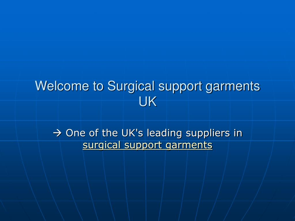 welcome to surgical support garments uk l.
