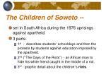 the children of soweto