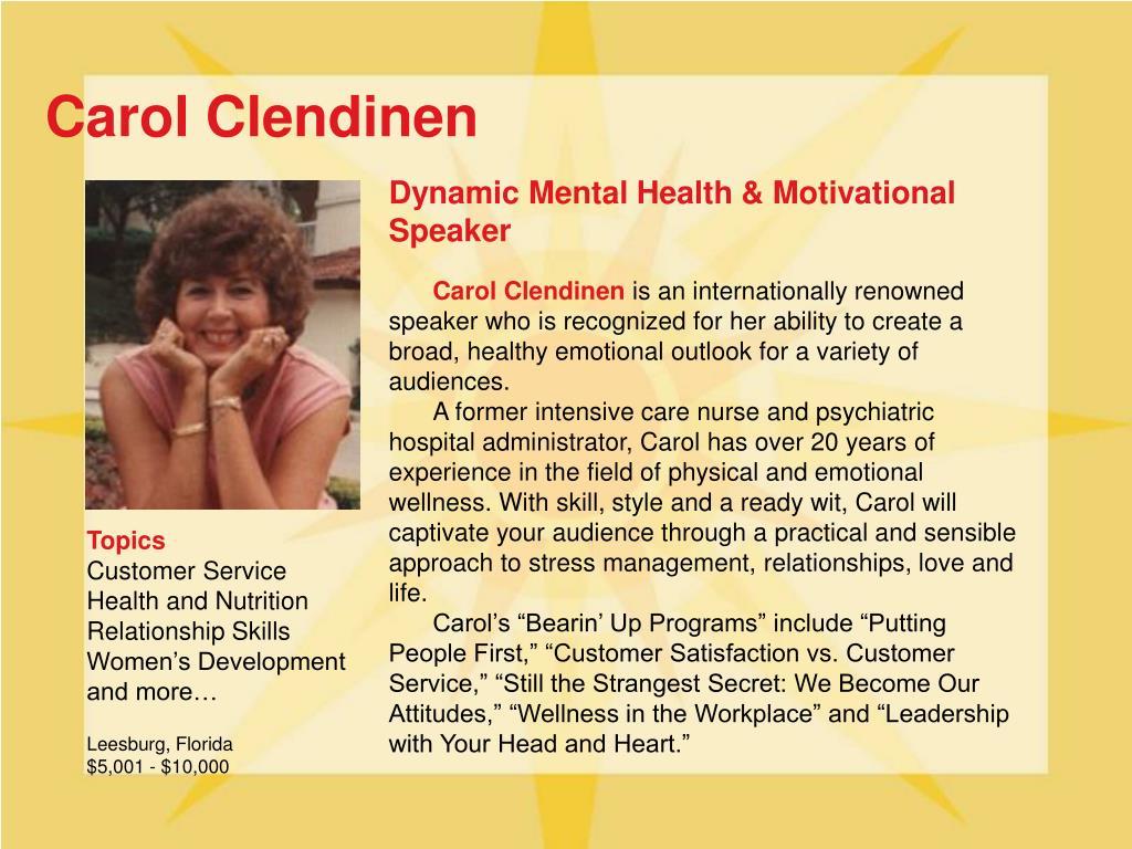 Carol Clendinen