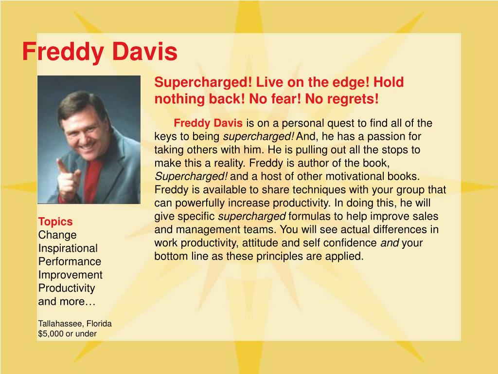 Freddy Davis