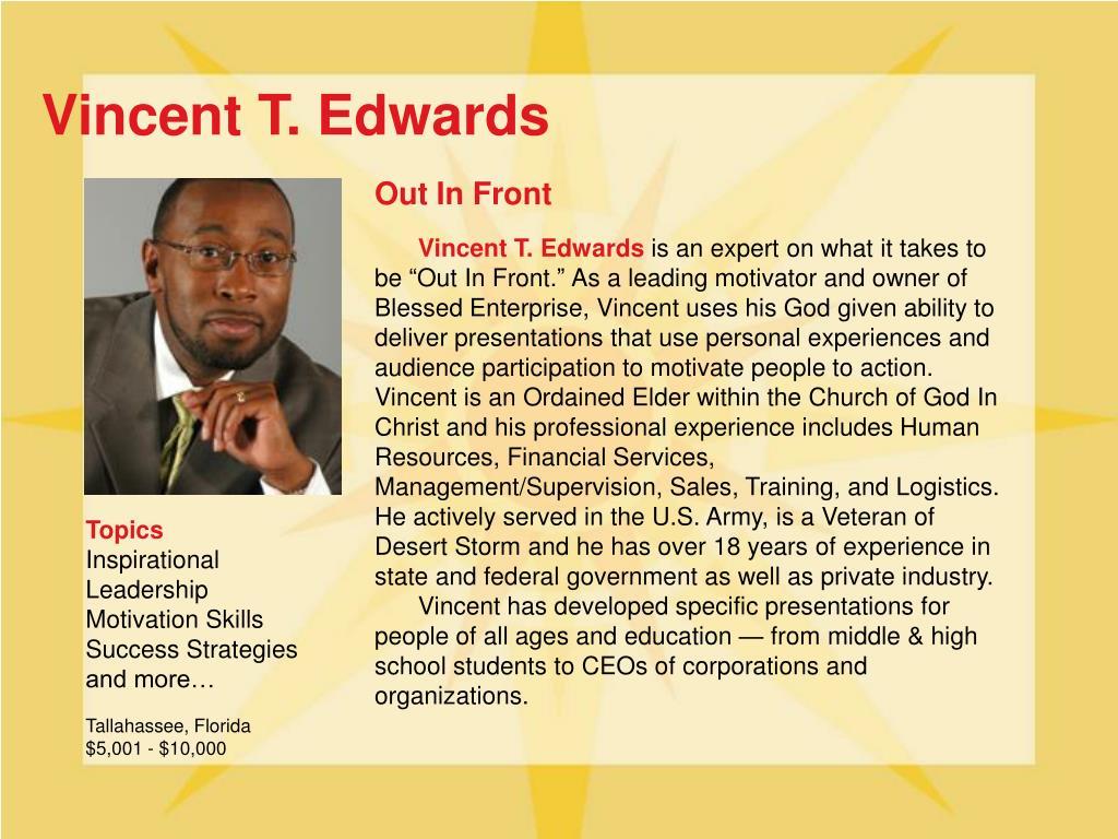 Vincent T. Edwards