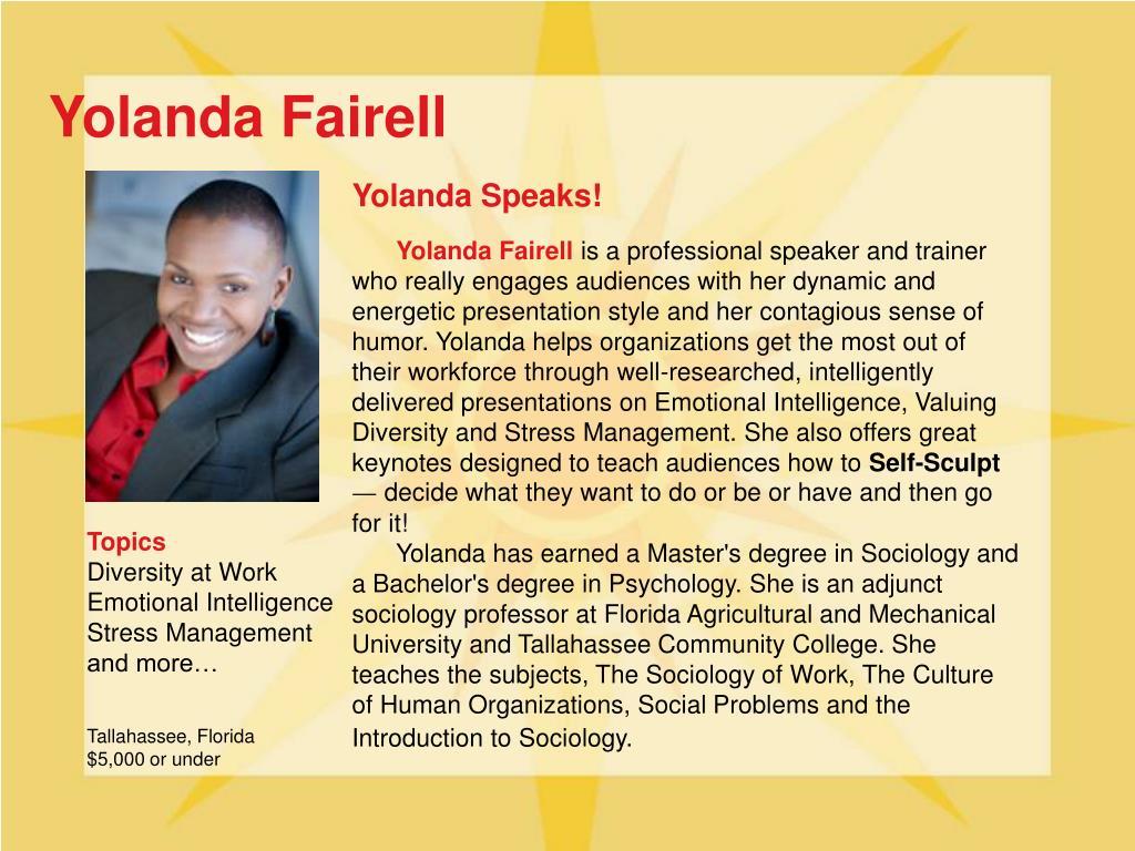 Yolanda Fairell
