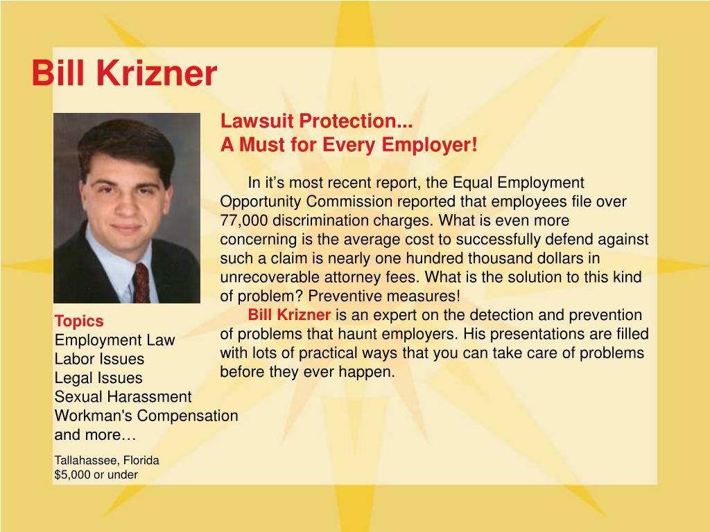 Bill Krizner