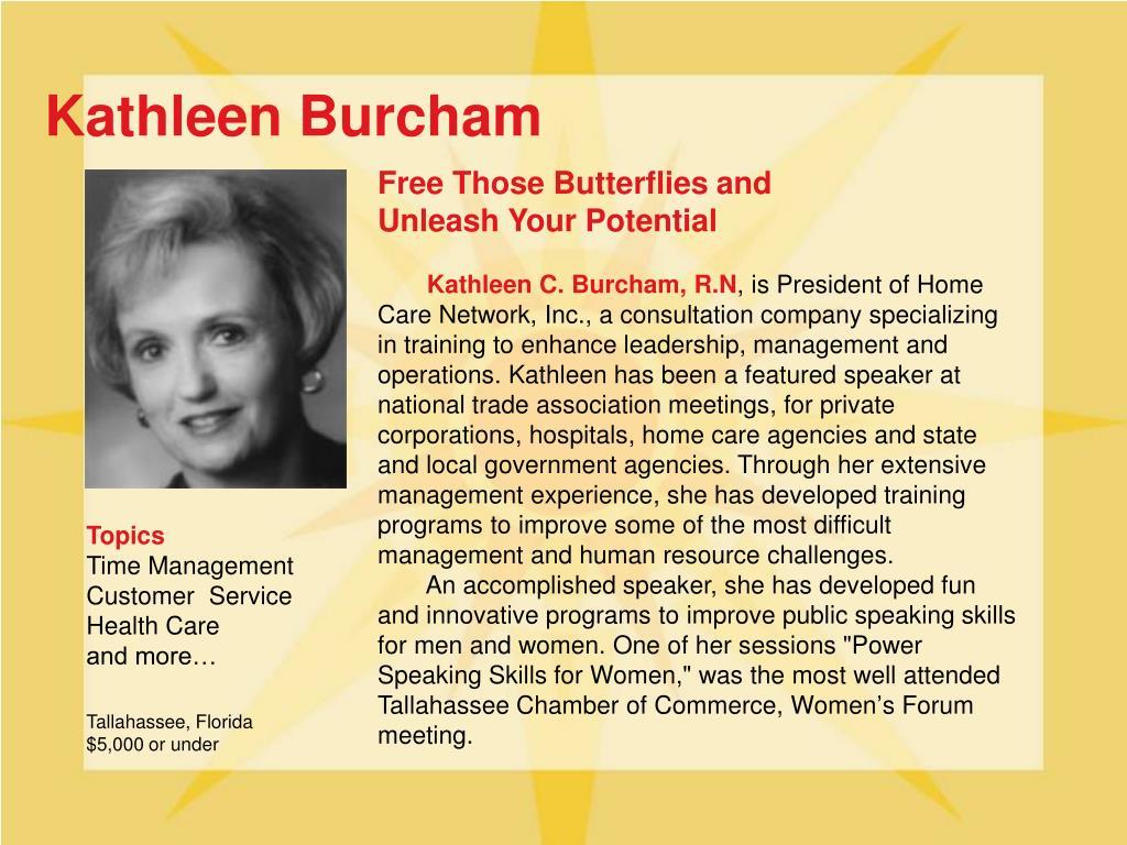 Kathleen Burcham
