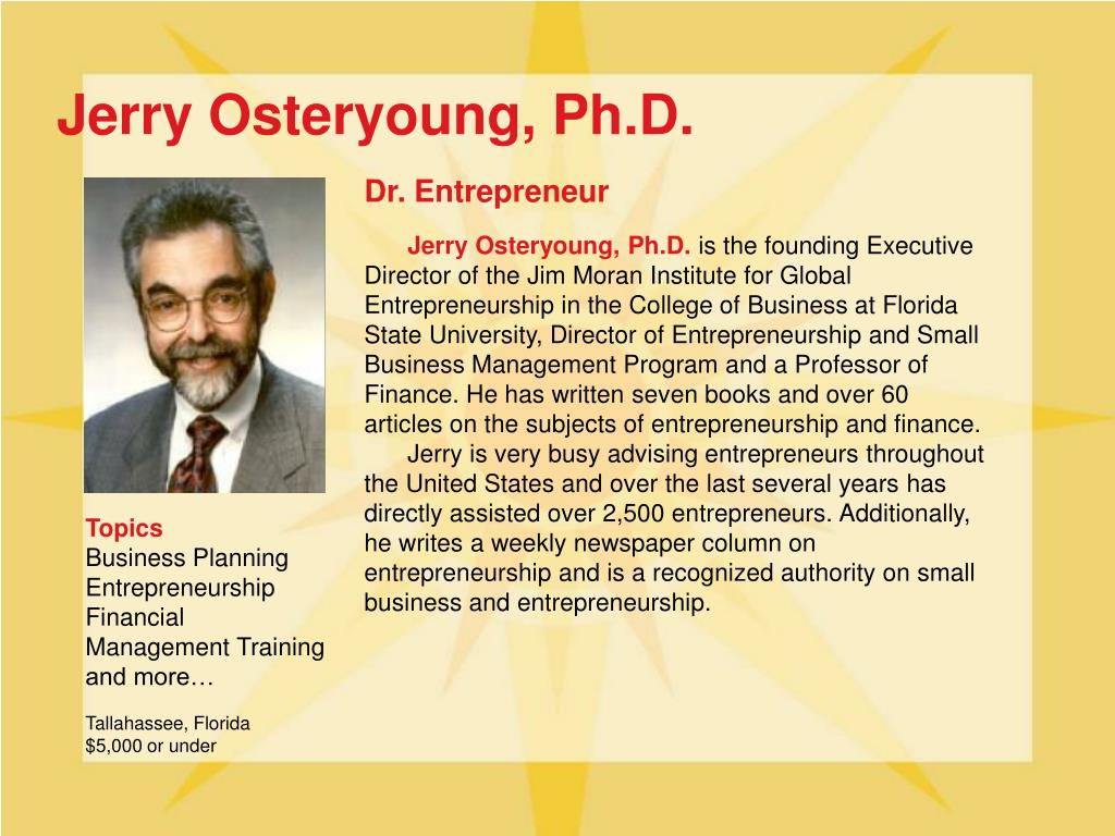 Jerry Osteryoung, Ph.D.