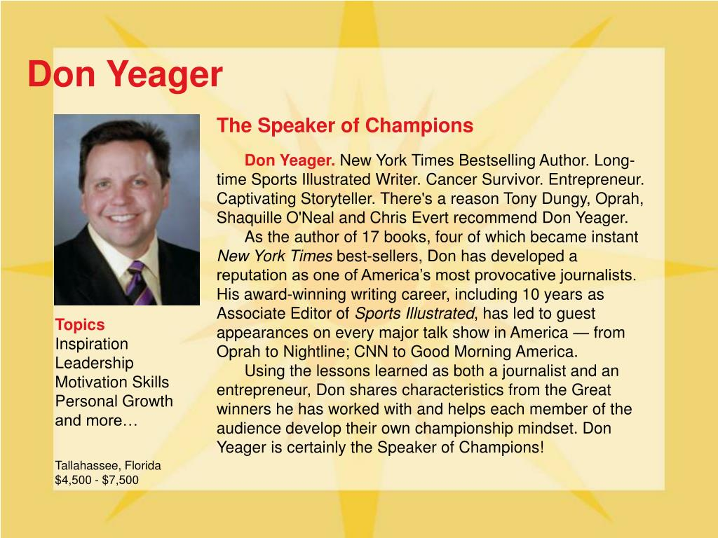 Don Yeager