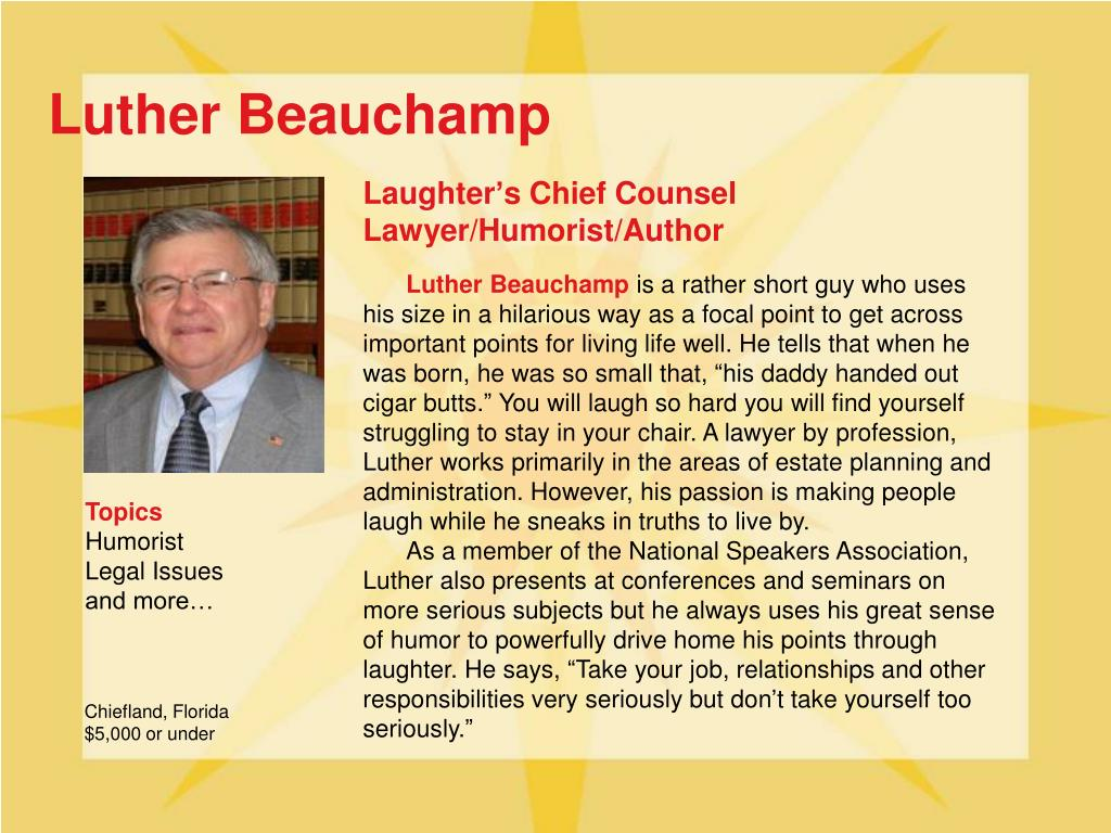 Luther Beauchamp