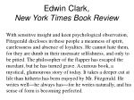 edwin clark new york times book review