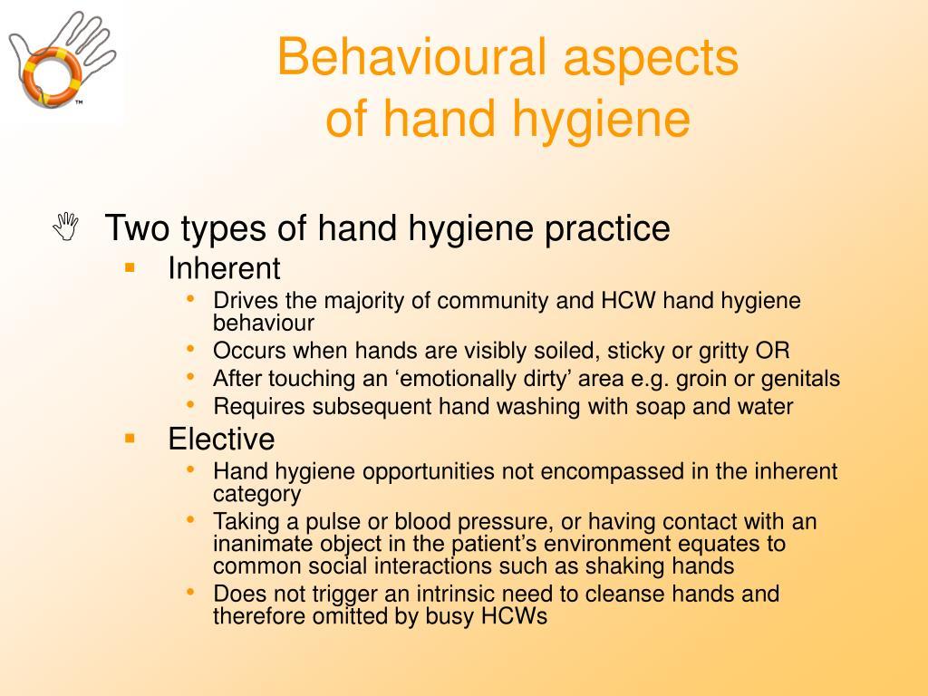 Behavioural aspects