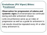 crotalinae pit viper bites treatment49